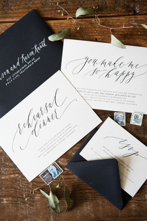 466 best lettering wedding invitations images on pinterest written word calligraphy design vancouver calligrapher modern romantic wedding calligraphy monochromatic calligraphy wedding stopboris Images