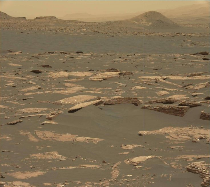 NASA's Mars rover Curiosity acquired this image using its Mast Camera (Mastcam) on Sol 1643