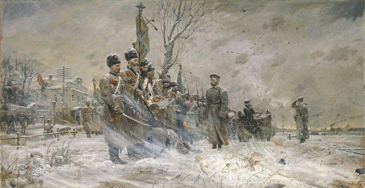 Emperor Nicholas II by Pavel Ryzhenko: