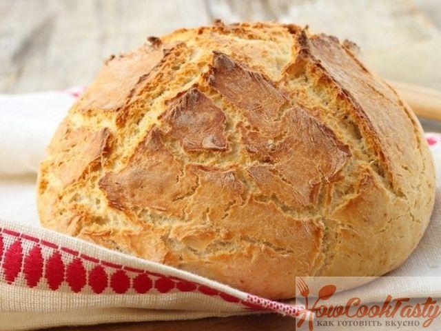 Ирландский содовый хлеб - Рецепт приготовления