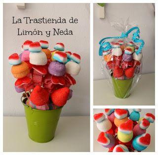 DIY tutorial maceta de gominolas. Diy sweet candy