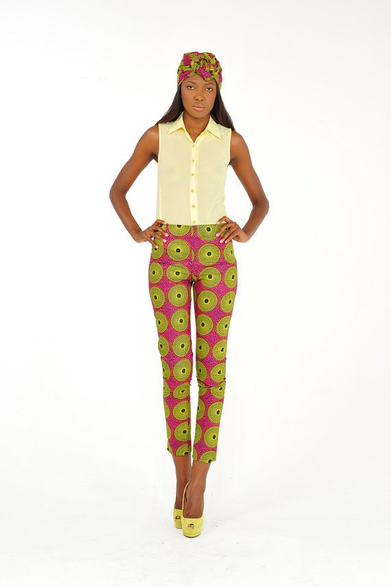 African Print Pants by Bongolicious1 on Etsy, $55.00