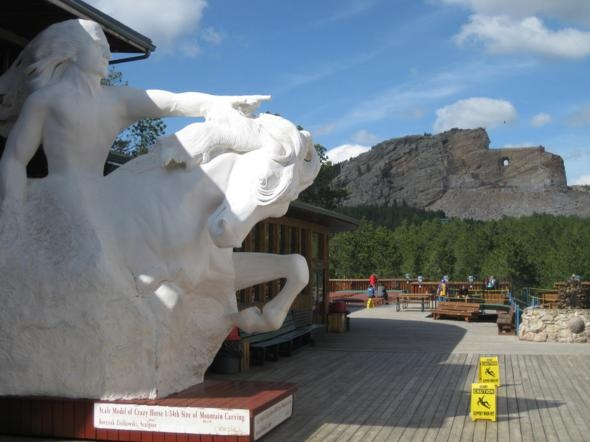 Crazy Horse Memorial, South Dakota, USA