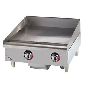 524TGF Star-Max Countertop 24in Electric Griddle | Restaurant Equipment