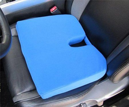 Car Seat Wedge Cushions  - Pin it :-) Follow us .. CLICK IMAGE TWICE for Pricing and Info :) SEE A LARGER SELECTION of car seat wedge cushions at http://zcarseatcushions.com/product-category/car-seat-wedge-cushions/ -   Memory Foam Ortho Wedge Cushion Color: Navy
