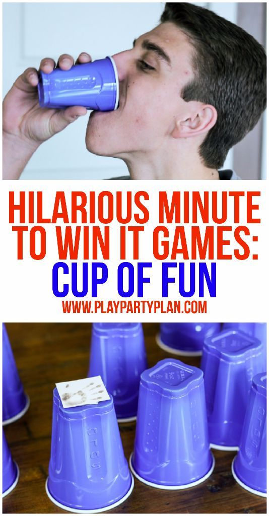 10 of the funniest minute to win it games ever these are for Birthday games ideas for adults