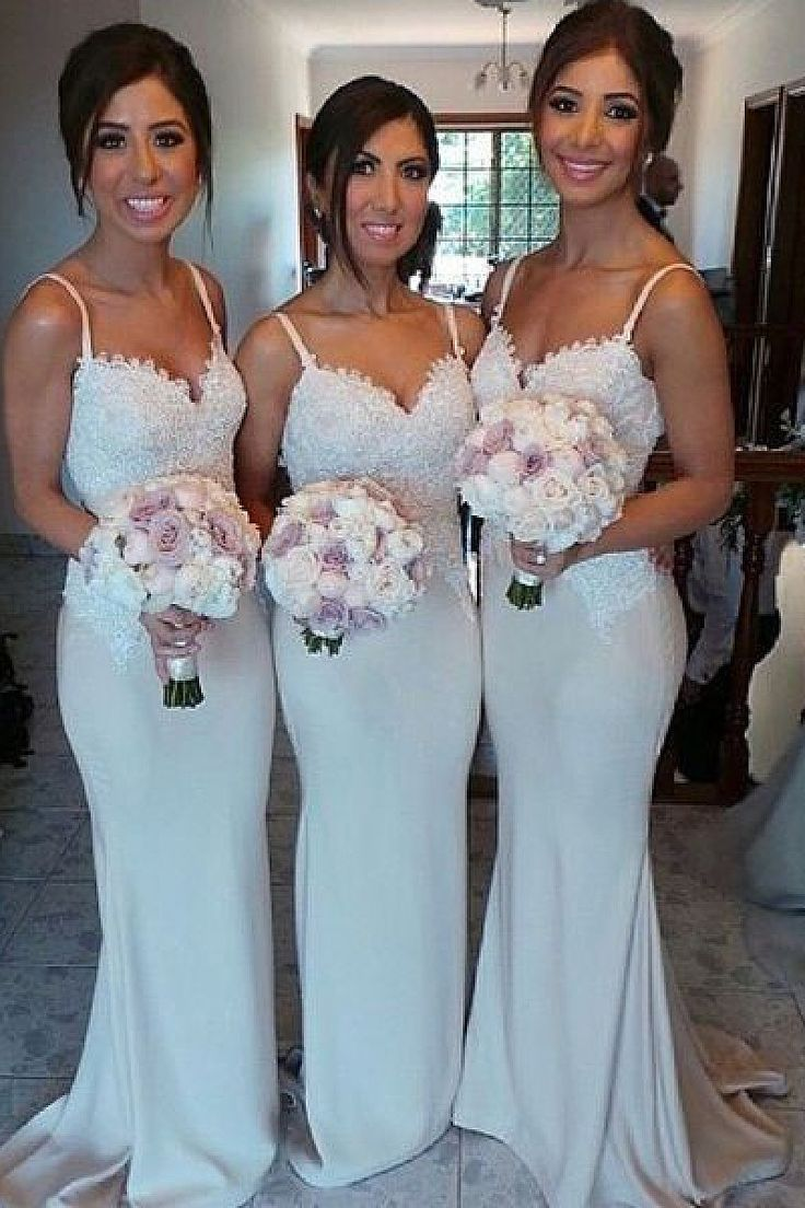 28 best Bridesmaid dresses images on Pinterest | Flower girls ...