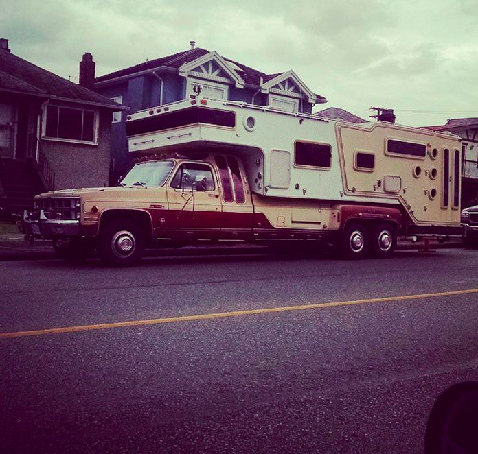 Truck Campers: 619 Best Funky RVs, Motorhomes & Campers Images On