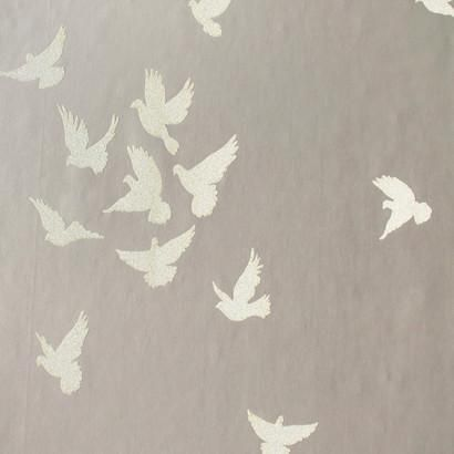 Flutter Glass Bead Effect Wallpaper design by York Wallcoverings - BURKE DECOR