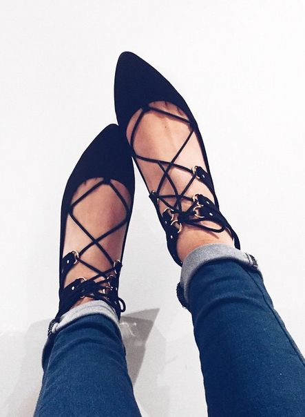 New Look Shoes, New Look Lace Up Pointed Shoes, Lace Up Shoes, Black Pointy Shoes, Casual Daytime Shoes