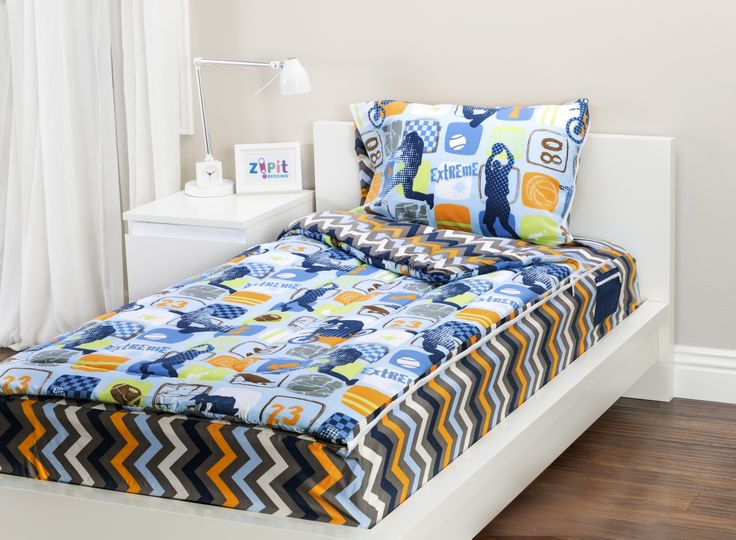 Zipit Bedding Set Extreme Sports