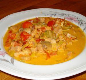Goda kasslern med curry