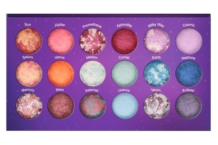 BH Cosmetics Galaxy Chic Paleta wypiekanych cieni   OCZY \ palety cieni OCZY \ PALETY CIENI   Minti Shop