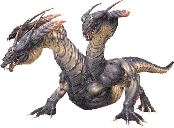 how to draw a hydra dragon