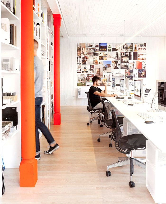 Interior Design Office Montreal: Office Space In Montreal By La Shed Architecture