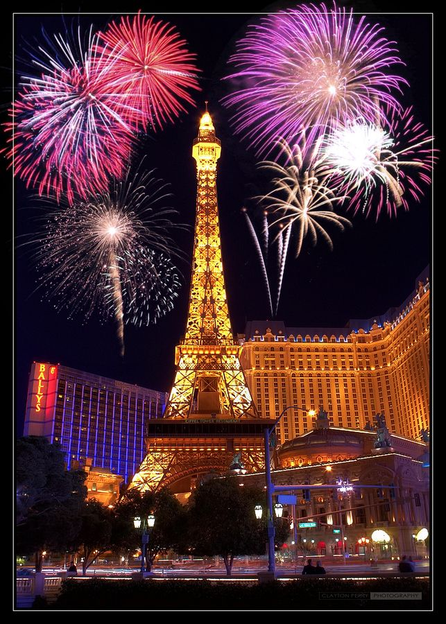 I want to be in Paris.......or maybe Vegas :)  Las Vegas Nights by Clayton Perry,