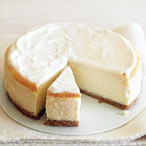 The name says it all! Get the luscious velvety texture of a rich cheesecake with less fat thanks to the greek yogurt and low-fat cottage cheese.