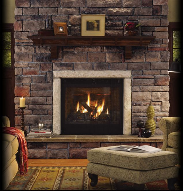 Interior Stone Wall Fireplace Prefab Fieldstone Fireplaces: Top 25 Ideas About Cultured Stone On Pinterest