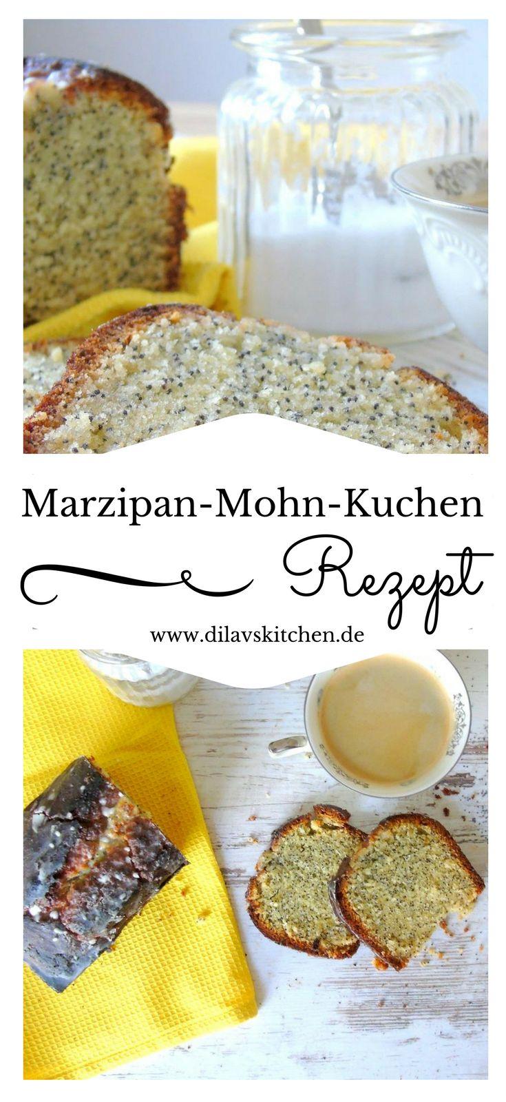 Marzipan trifft auf Mohn, trifft auf Zitrone. Ein leichter Kuchen für Frühlung und Sommer, der garantiert jedem schmeckt. Hol dir das Rezept auf meinem Foodblog www.dilavskitchen.de