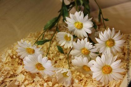 Букеты из полевых цветов для интерьера из шелка. - интерьер,интерьерная композиция