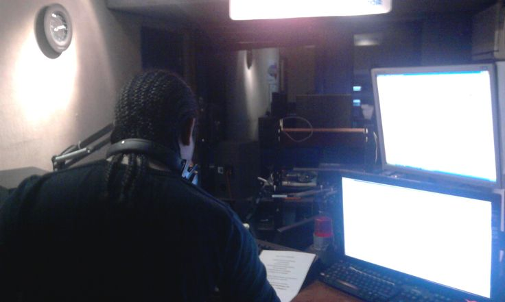 visiting dj noise p at Fun Radio belgium
