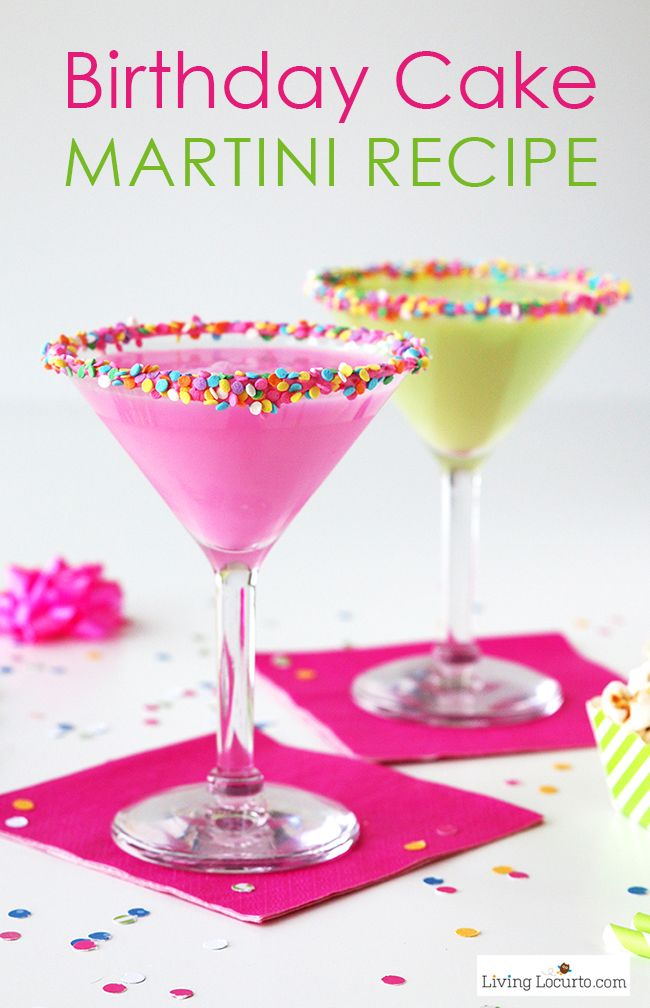 17 best ideas about colorful birthday on pinterest for Easy cocktail recipes for parties