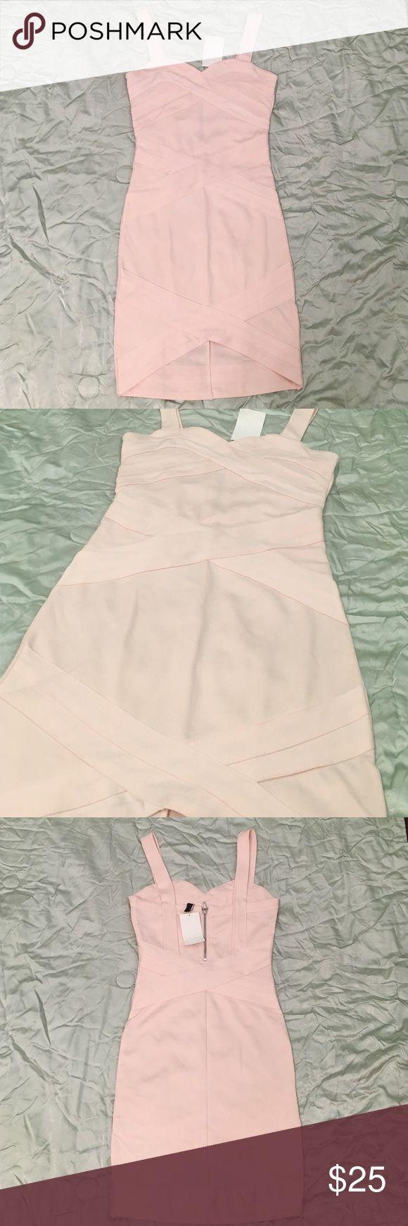✨NWT✨ H&M Light Pink Bandage Dress H&M Light Pink Bandage Dress. Super form fitting and great quality!! NWT! H&M Dresses Mini