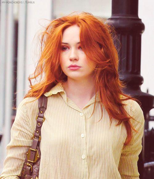 Pity, karen gillan red hair ideal