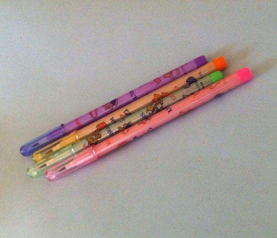 Bensia Lead Pencil. 1980s Mechanical Pencil. Cute by JirjiMirji