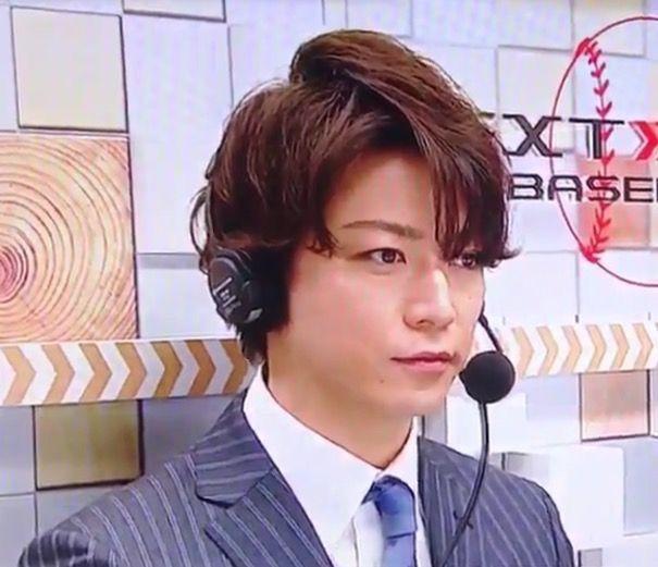 Kazuya Kamenashi  baseball stadium MC
