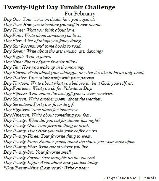 Writing Blog 30 day Challenge.