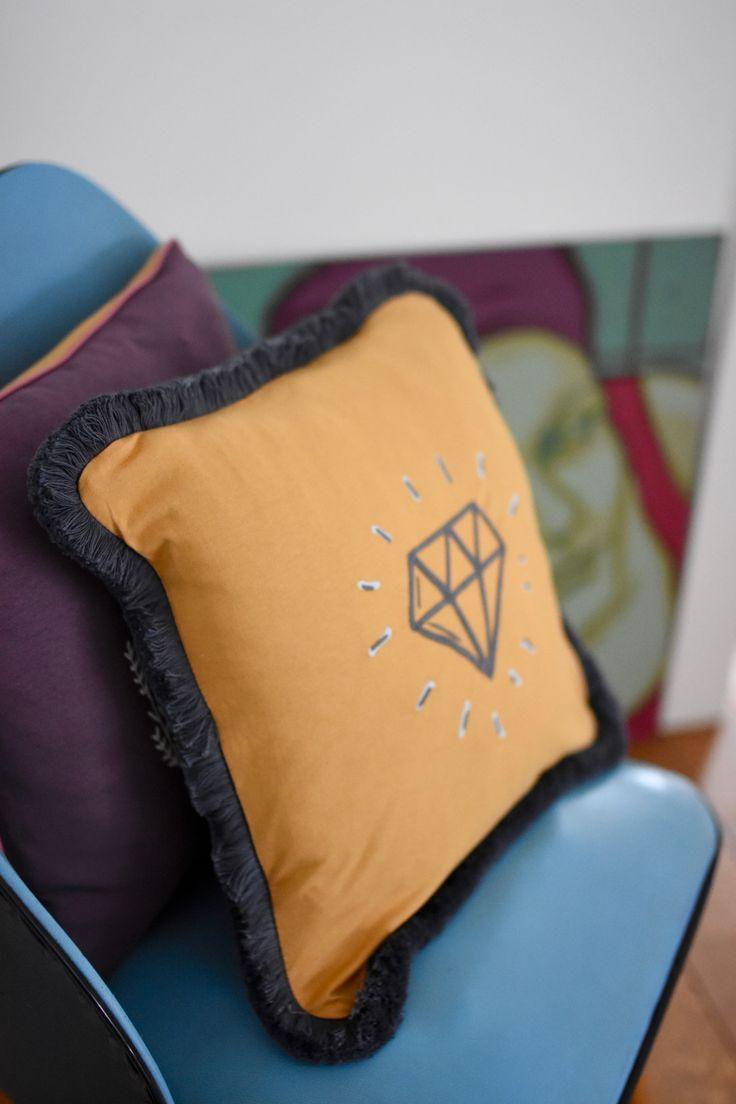 Cushion decoration by NUKI