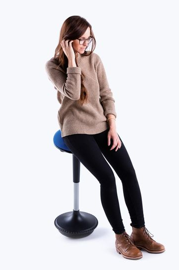 The UPLIFT Motion Stool Engages Your Core, Maintains Your Posture, And  Keeps You Active While Working At Your Height Adjustable Desk.