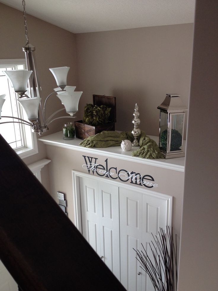 Master Bedroom Entryway Decor