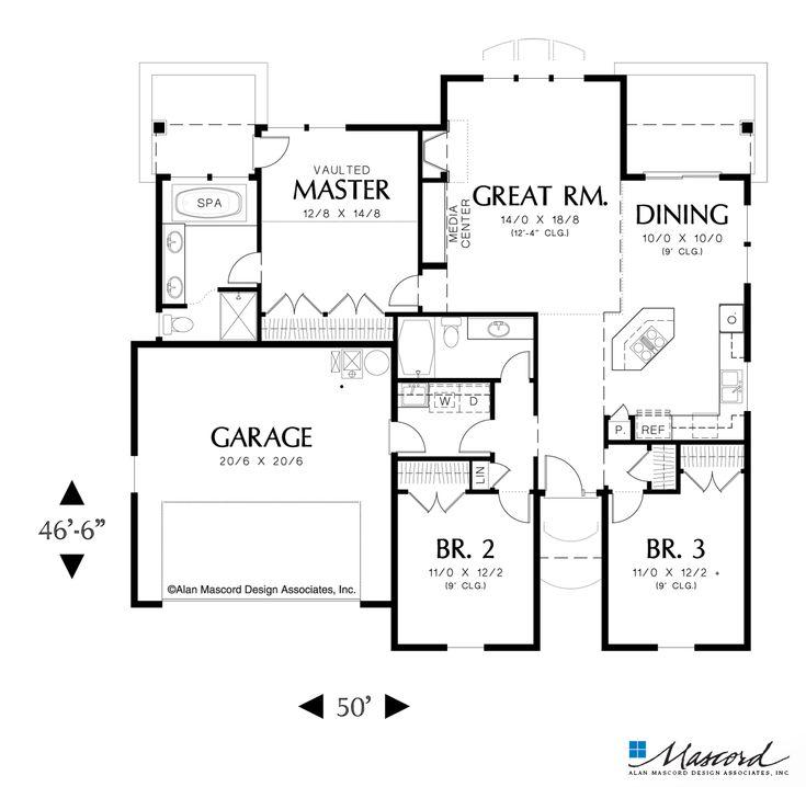 Best 25 Starter Home Plans Ideas On Pinterest Cottage