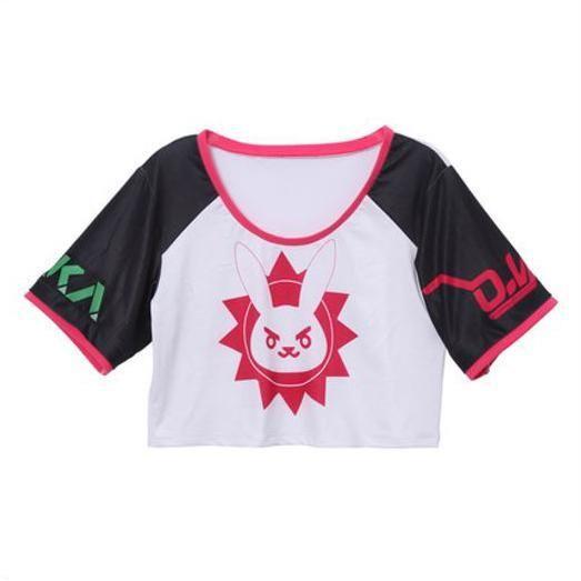 Overwatch D.VA DVA Short/Long T-shirt