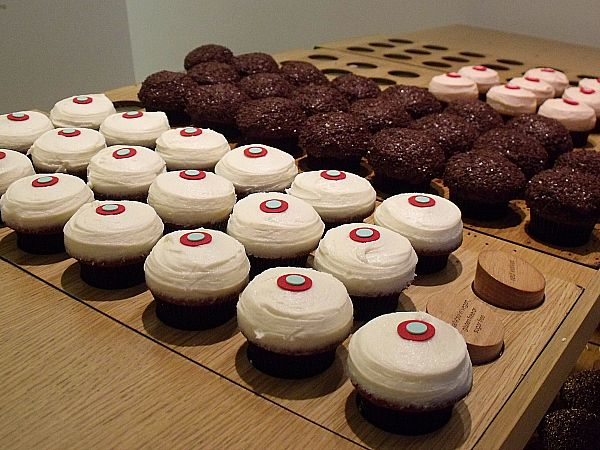 Sprinkles Cupcakes - Chicago, IL...especially the gender reveal memory with Julie...we'll see if they were right;)