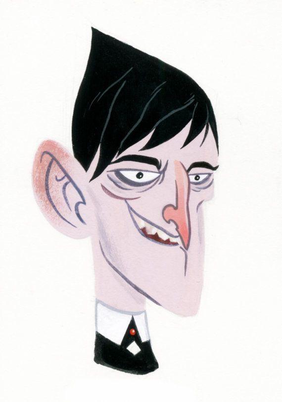 Oswald Cobblepot the Penguin  di DocCaligari su Etsy