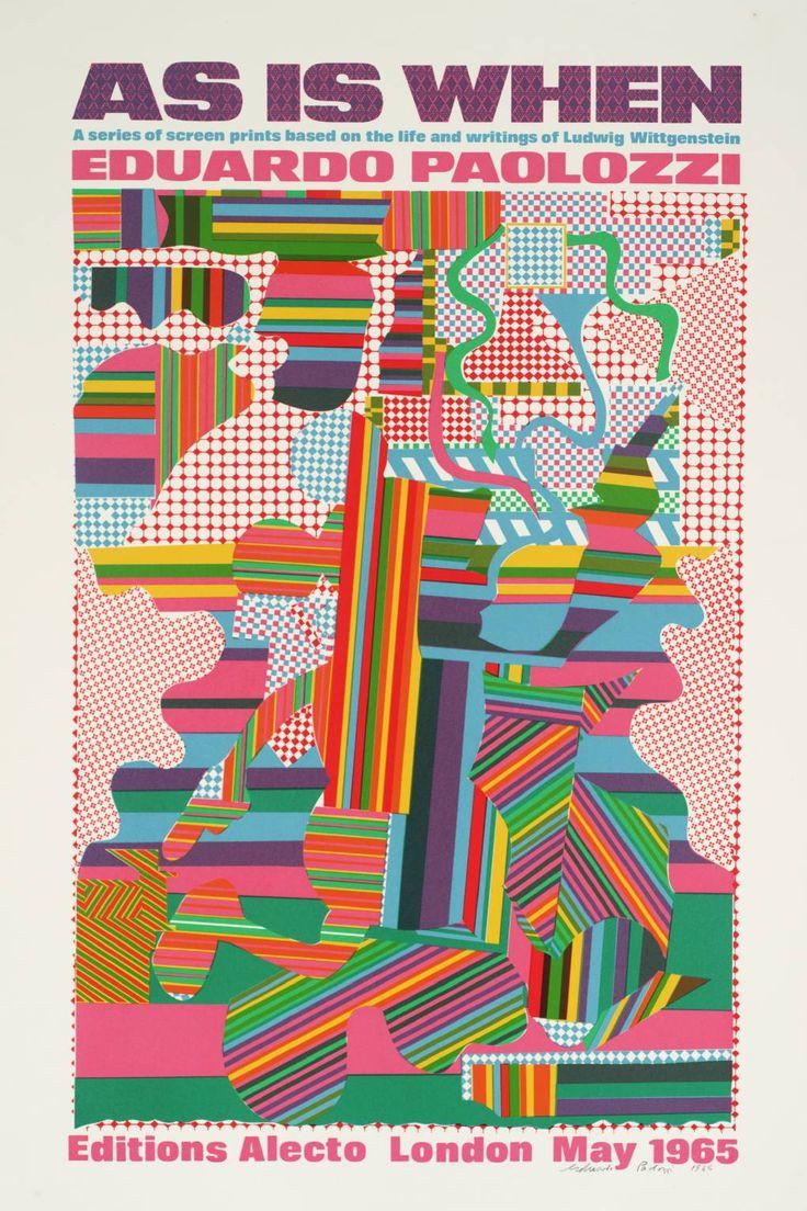 Sir Eduardo Paolozzi, 'Poster' 1964