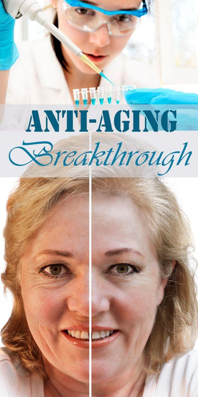 Anti-Aging Breakthrough - Scientists Make Major Breakthrough