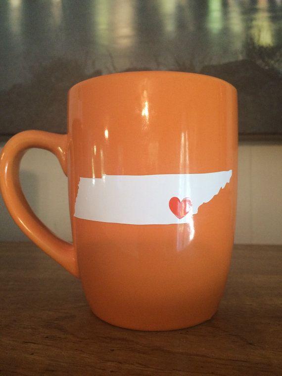 TN mug by TheMonogramJar on Etsy