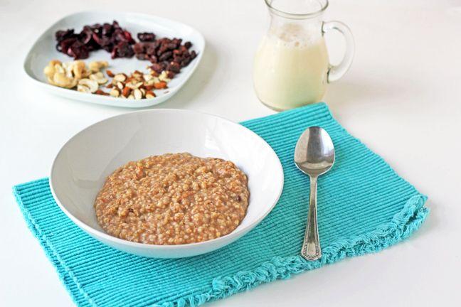 how to make oatmeal porridge with quick oats