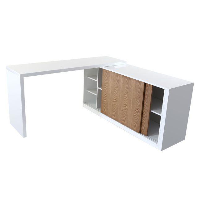 Buffet MAX BUFFET MILIBOO : prix, avis & notation, livraison. Pratique, élégant et modulable, le buffet design MAX est conçu en exclusivité par Miliboo ! Son plateau pivote à 360 degrès et possède de nombreux rangements : 2 grandes niches (L70xP39xH31,5 cm), 2 moyennes niches (L45xP39xH31,5 cm), 3 petites niches (L26xP39xH19,5 cm). En bureau ou en buffet, à vous de choisir ! Ses dimensions généreuses (157xP45xH76cm) peuvent être modulées en fonction de la place dont vous disposez : selon…