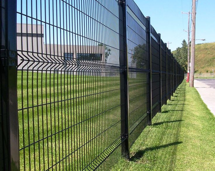 Fencing completed by Omega II Fence Systems Fencing Pinterest - küchen led leiste