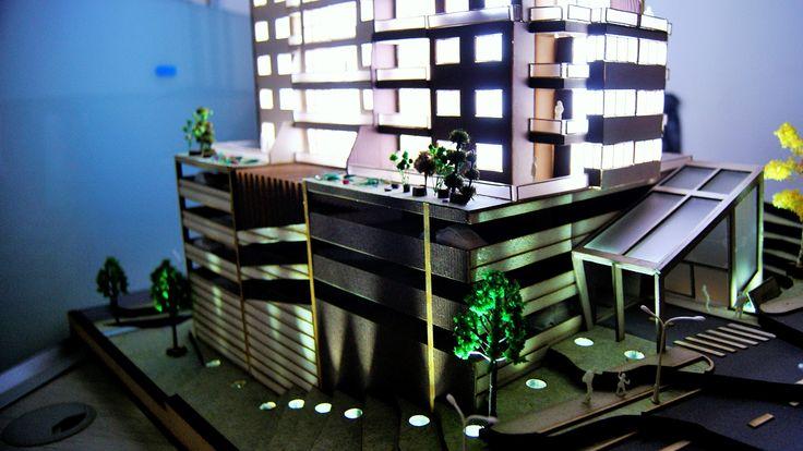 Maqueta Proyecto Mocaccino Escala 1:100 CREATIVA DISEÑO Y CONSTRUCCIÓN S.A.S Sabaneta Antioquia Colombia  / Despiece y Armado  :  Jeison González Patiño