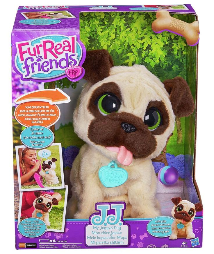 Buy FurReal JJ My Jumping Pug Pet at Argos.co.uk - Your Online Shop for Animal playsets and collectables.