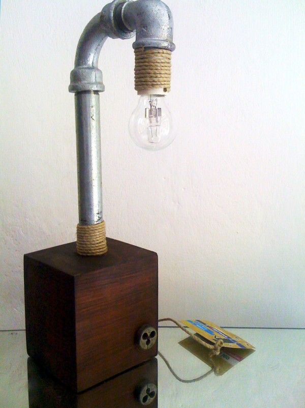plumber light.Lamps, Plumbing Pipe, Crafts Ideas, Adorable Lights, Inspiration Diy Gb, Plumbing Lights, Plumber Lights, Diy Plumbing, Decoración Diy