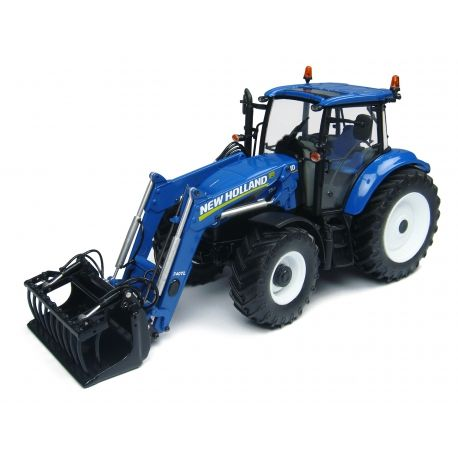 TRACTEUR NEW HOLLAND T5.115 AVEC FOURCHE AVANT - Echelle 1/32 - Universal Hobbies http://www.universalhobbies.biz/fr/echelle-132/1435-tracteur-new-holland-t5115-avec-fourche-avant-3539184274008.html