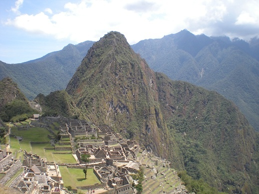 Viaje a Perú en 2009. Foto de la visita a Machu Pichu, considerado una de las siete maravillas del mundo.