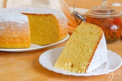 Кукурузный пирог.